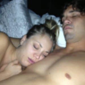 leaked pic of kaley cuoco and her husband after sex
