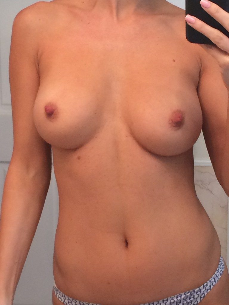 The busty Joanna Krupa showing her breasts fully nude