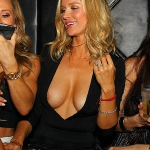 The fabulous Joanna Krupa showing some major cleavage