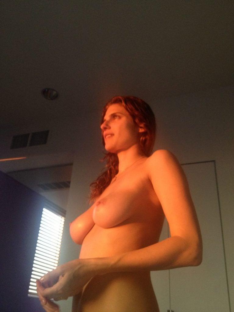 Lake Bell naked in sunlight bedroom
