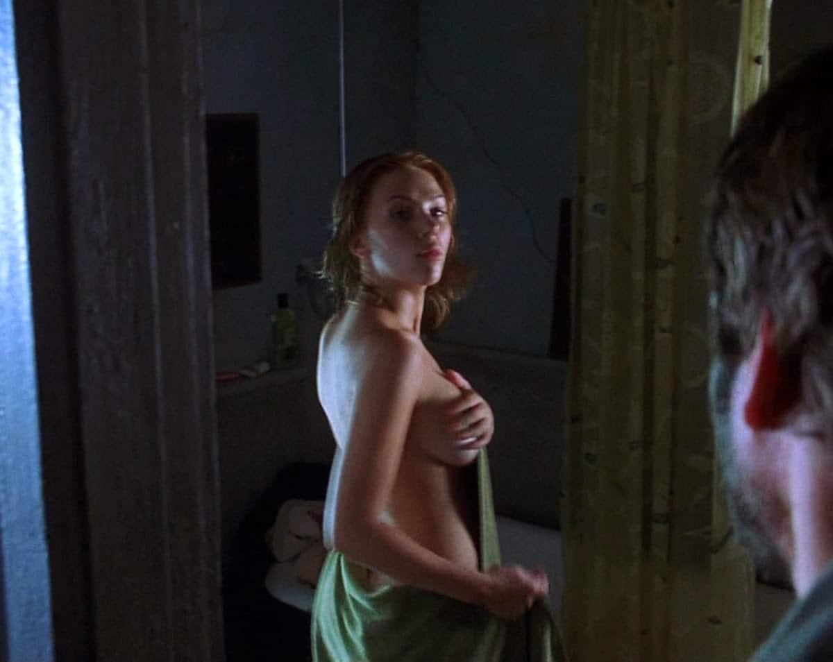 Scarlett johansson nude shower scene