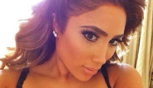 Beautiful selfie of Nikki Mudarris with head tilted