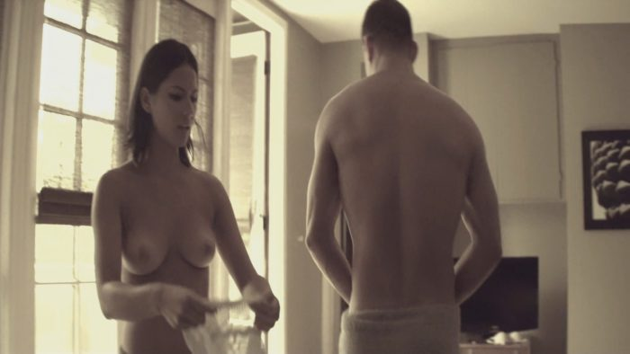 Olivia Munn and Channing Tatum half naked in Magic Mike