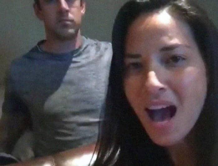 Olivia Munn thefappening leak Aaron Rodgers