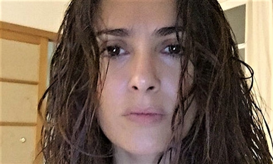 *LEAKED* Salma Hayek Sex Tape Before She Was Famous [SHOWER]