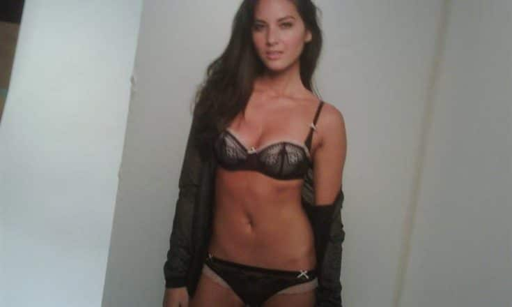 sexy pic of Olivia Munn in scandalous lingerie