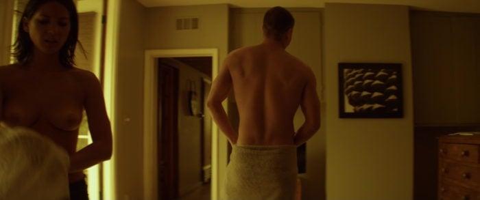 topless scene of olivia munn looking hot in magic mike film
