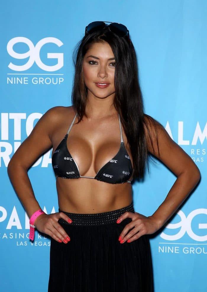 Arianny Celeste in bikini top 2012