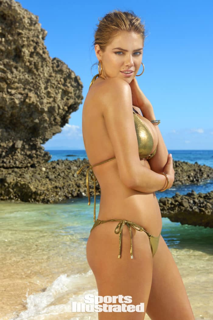 Hot pic of Kate Upton modeling in Fiji for Sports Illustrated Swimsuit 2017 edition
