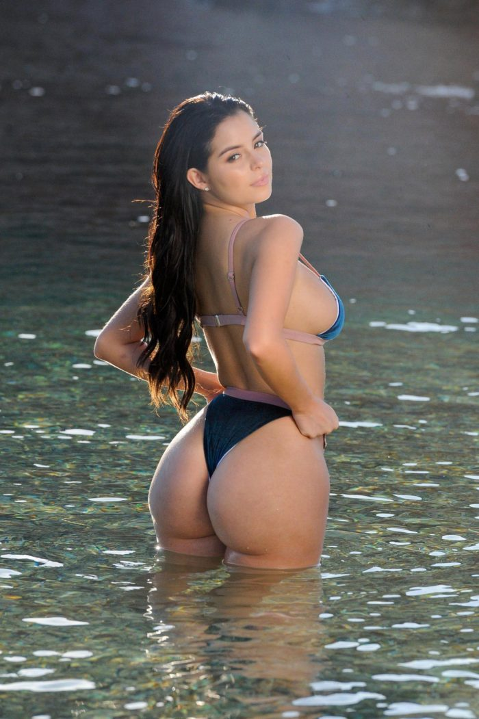 Demi Rose Mawby ass thong