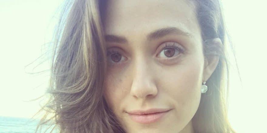 Emmy Rossum selfie