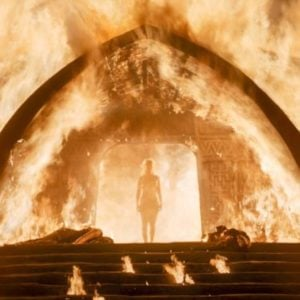 GOT season 6 naked scene of the Mother of Dragons