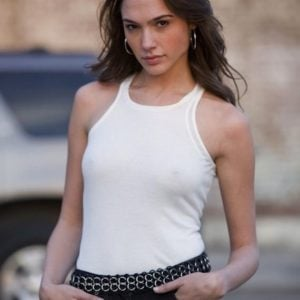 Gal Gadot with some nipples exposed