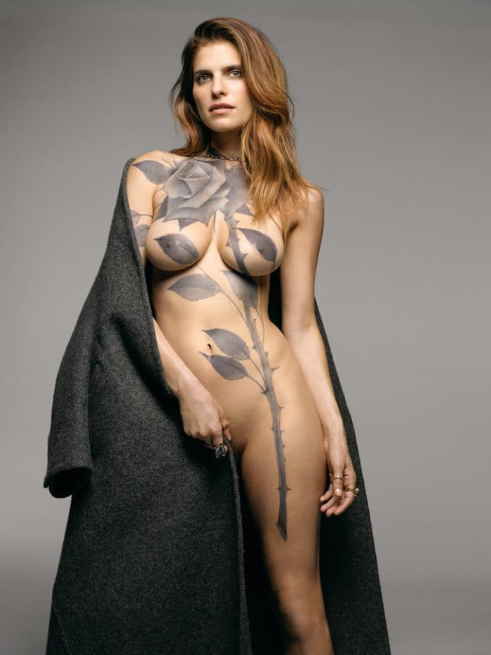 Lake Bell in New York magazine naked showing off her amazing body