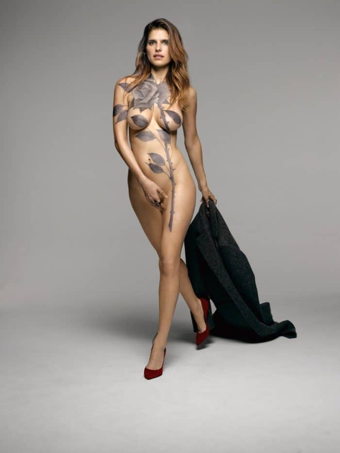 Lake Bell modeling nude for New York Magazine