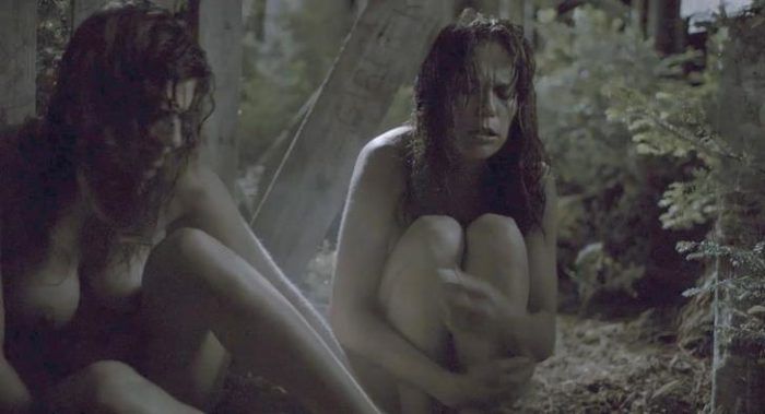 Lake Bell naked in the movie Black Rock