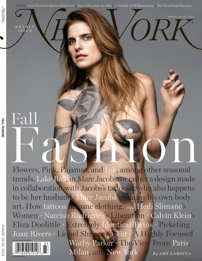 Lake Bell on the cover of New York magazine
