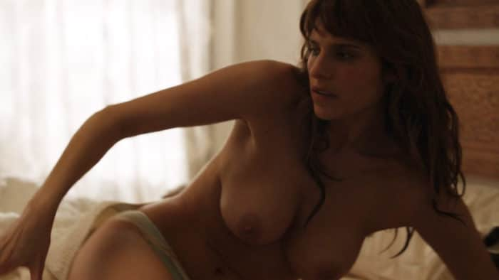 Lake Bell topless in How to Make It in America