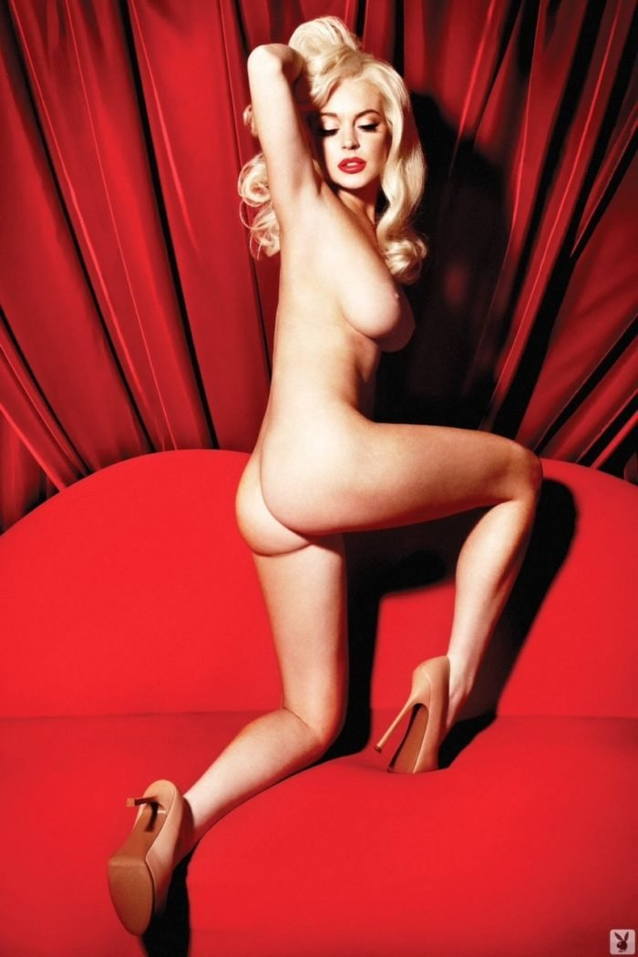 Lindsay Lohan in Playboy