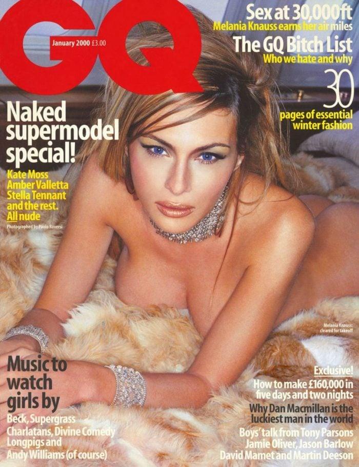 Melania Trump poses naked for GQ magazine spread