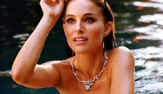 Natalie Portman topless for Ms. Dior