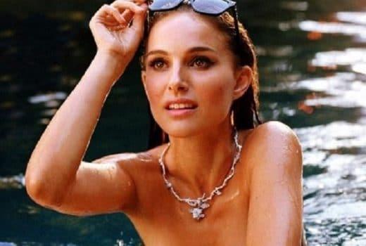 Natalie Portman topless for Ms. Dior