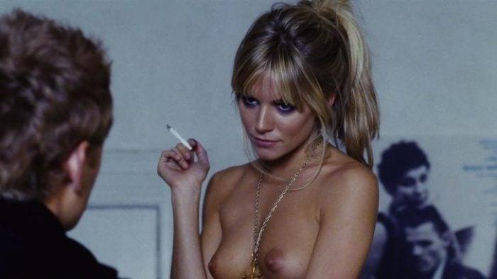 Sienna Miller topless in the movie Alfie
