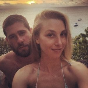 Whitney Port taking a selfie with husband Tim Rosenmann