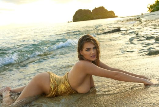 Kate Upton photos for SI topless in Fiji