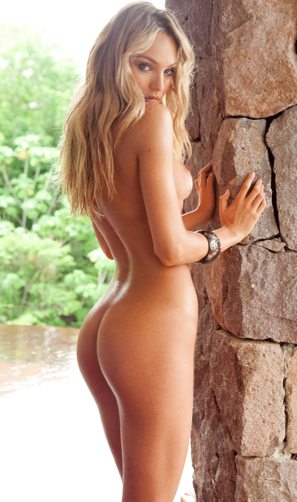 Candice Swanepoel modeling totally undressed