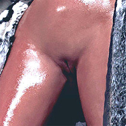 Close up photo of Kim Kardashian's vagina in love photoshoot