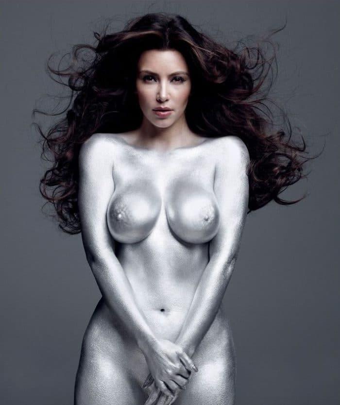 kim kardashian paper magazine uncensored