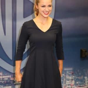 Melissa Benoist short dress