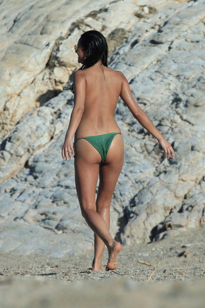 Shay Mitchell in Mykonos Greece on vacation with friends (23)