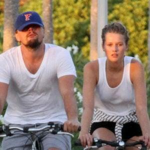 Leonardo and Toni riding bikes