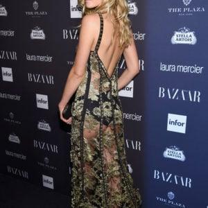 Toni Garrn see through dress at event (9)