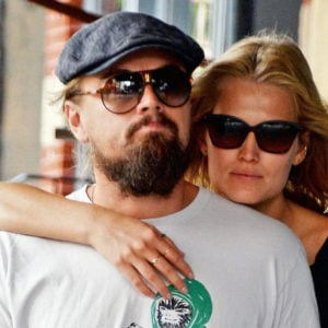 Leonardo and Toni Garrn