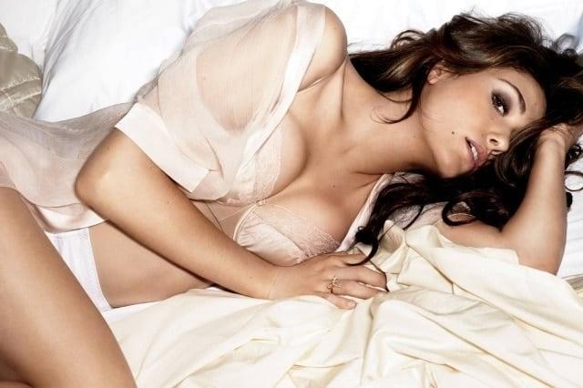 Emmy Rossum sexy lingerie