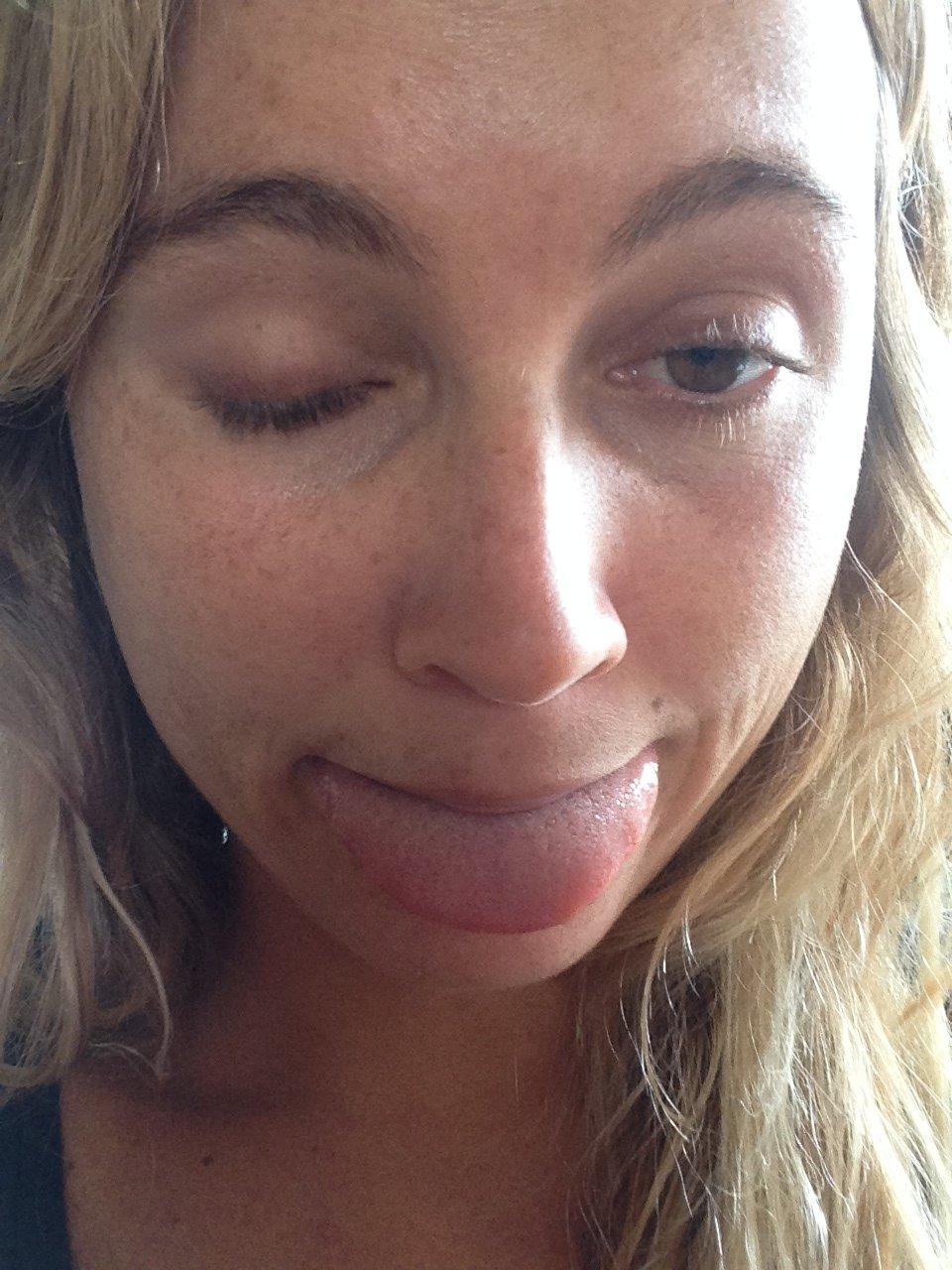 Alana Blanchard pussy pic