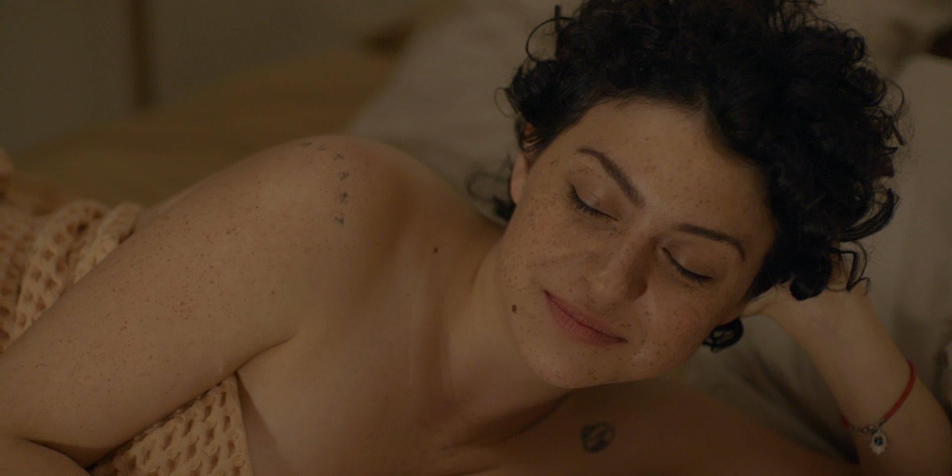 Alia Shawkat naked boobs