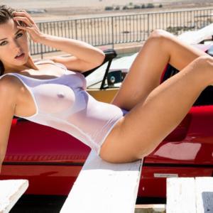 Alyssa Arce sexy Playboy photo