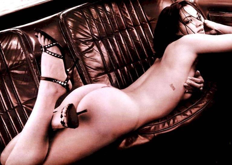 Asia Argento riding cock