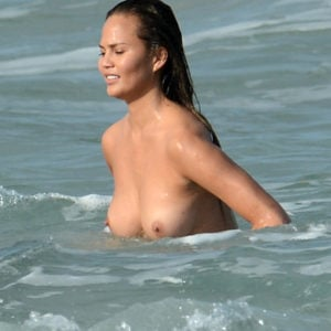 Chrissy Teigen tits