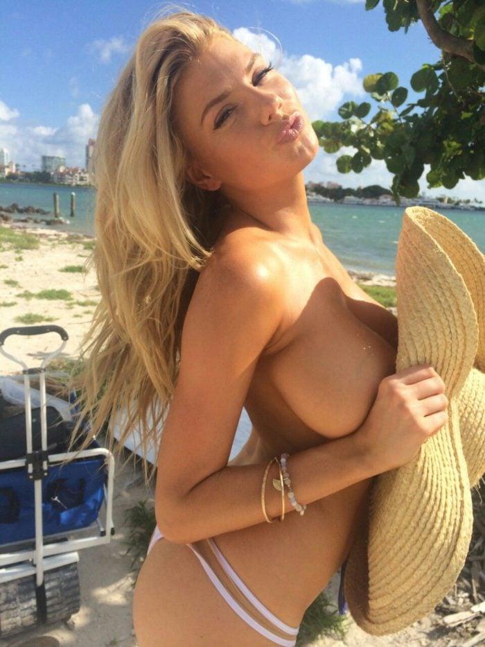 Charlotte McKinney boobs exposed