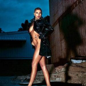 Charlotte McKinney sexy naked photo